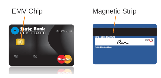 EMV Chip vs magnetic strip