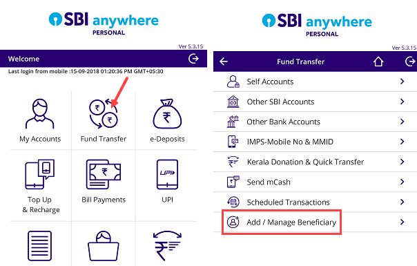 SBI Beneficiary kya hai, kaise Add approve kare