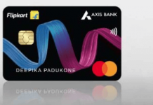 flipkart axis credit card